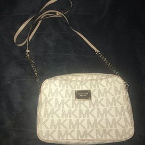 COPY - Michael Kors white purse